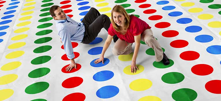 Be The Last One Standing In Our Game Of Twister